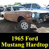 Junkyard 1965 Ford Mustang