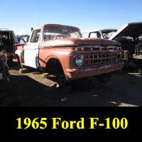 Junkyard 1965 Ford Pickup