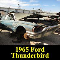 Junkyard 1965 Ford Thunderbird Landau