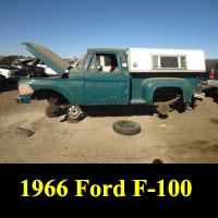 Junkyard 1966 Ford F-100 Flareside