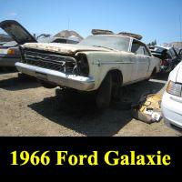 Junkyard 1966 Ford Galaxie