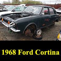 Junkyard 1968 Ford Cortina