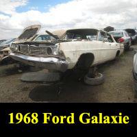 Junkyard 1968 Ford Galaxie