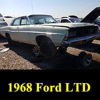 Junkyard 1968 Ford LTD