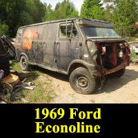 Junkyard 1969 Ford Econoline Van