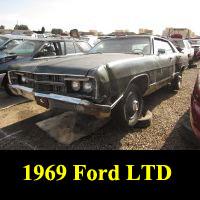 Junkyard 1969 Ford LTD
