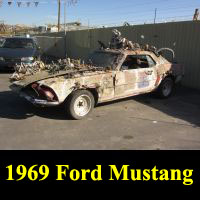 Junkyard 1969 Ford Mustang Art Car