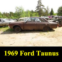 Junkyard 1969 Ford Taunus