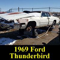 Junkyard 1969 Ford Thunderbird