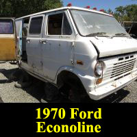 Junkyard Junkyard 1970 Ford Econoline van