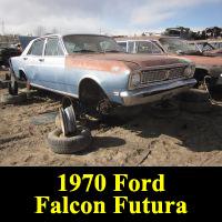 Junkyard 1970 Ford Falcon Futura