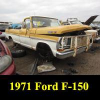 Junkyard 1971 Ford F-100