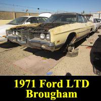 Junkyard 1971 Ford LTD Brougham