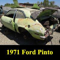 Junkyard 1971 Ford Pinto