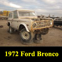 Junkyard 1972 Ford Bronco