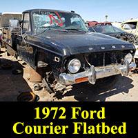 Junkyard 1972 Ford Courier