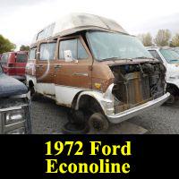 Junkyard 1972 Ford Econoline Camper