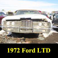 Junkyard 1972 Ford LTD