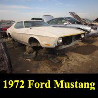 Junkyard 1972 Ford Mustang