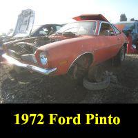 Junkyard 1972 Ford Pinto