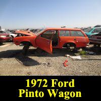 Junkyard 1972 Ford Pinto Wagon