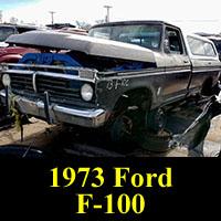 Junkyard 1973 Ford F-100 Custom
