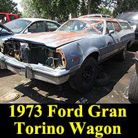 Junkyard 1973 Ford Gran Torino Wagon