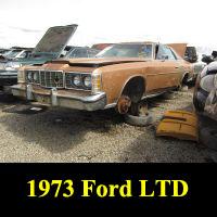 Junkyard 1973 Ford LTD