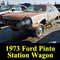 Junkyard 1973 Ford Pinto Wagon