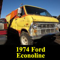 Junkyard 1974 Ford Econoline