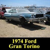 Junkyard 1974 Ford Gran Torino