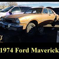 Junkyard 1974 Ford Maverick sedan