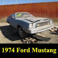 Junkyard 1974 Ford Mustang Mach 1