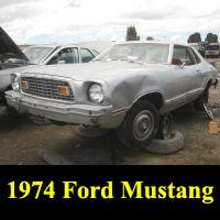 Junkyard 1974 Ford Mustang