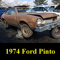 Junkyard 1974 Ford Pinto
