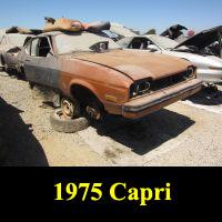 Junkyard 1976 Capri