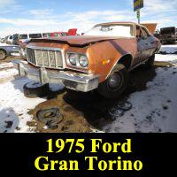 Junkyard 1975 Ford Gran Torino