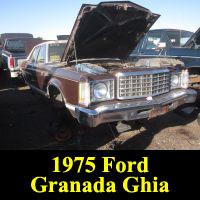 Junkyard 1975 Ford Granada Ghia