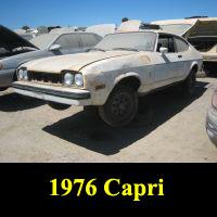 Junkyard 1976 Ford Capri