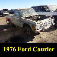 Junkyard 1976 Ford Courier