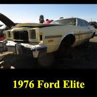 Junkyard 1976 Ford Elite