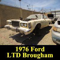 Junkyard 1976 Ford LTD Brougham