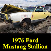 1976 Ford Mustang Stallion