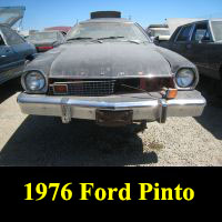 Junkyard 1976 Ford Pinto