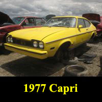 Junkyard 1977 Ford Capri