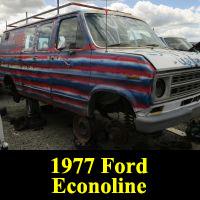 Junkyard 1977 Ford Econoline