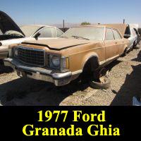 Junkyard 1977 Ford Granada Ghia