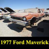 Junkyard 1977 Ford Maverick