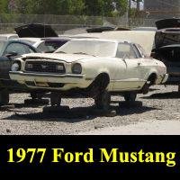 Junkyard 1977 Ford Mustang