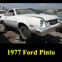 Junkyard 1977 Ford Pinto